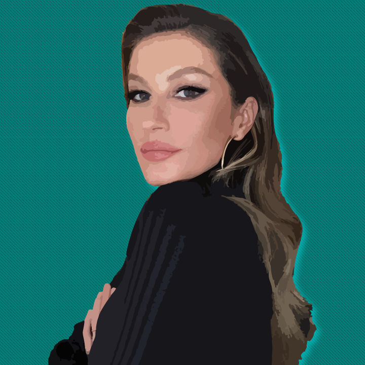 Gisele Bündchen illustration by Heather Skovlund for 360 Magazine