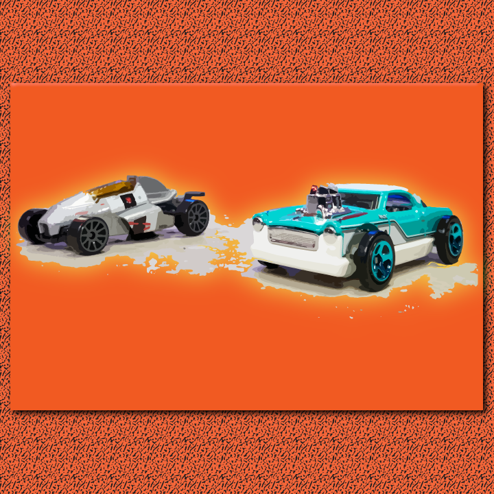 Hot Wheels illustration by Heather Skovlund for 360 Magazine