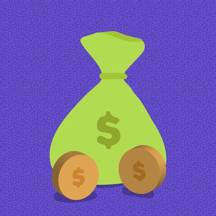 Money illustration by Heather Skovlund for 360 Magazine