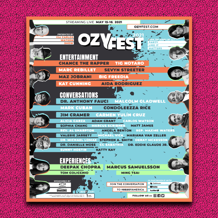 OZY Fest illustration by Heather Skovlund for 360 Magazine