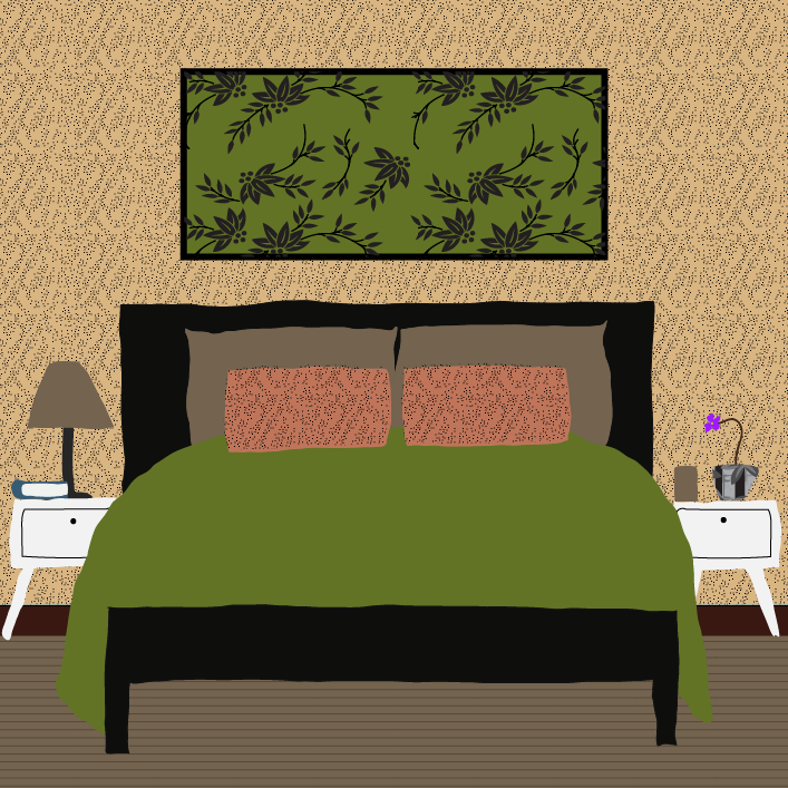 Room Makeover illustration by Heather Skovlund for 360 Magazine