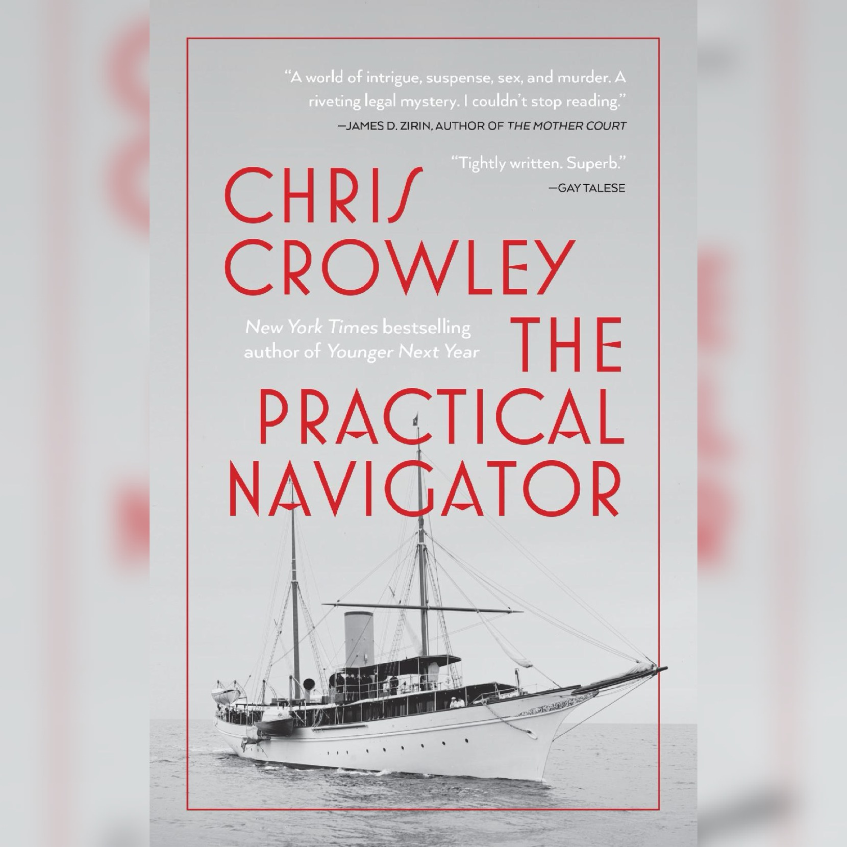 Chris Crowley's The Practical Navigator book press image for use by 360 Magazine