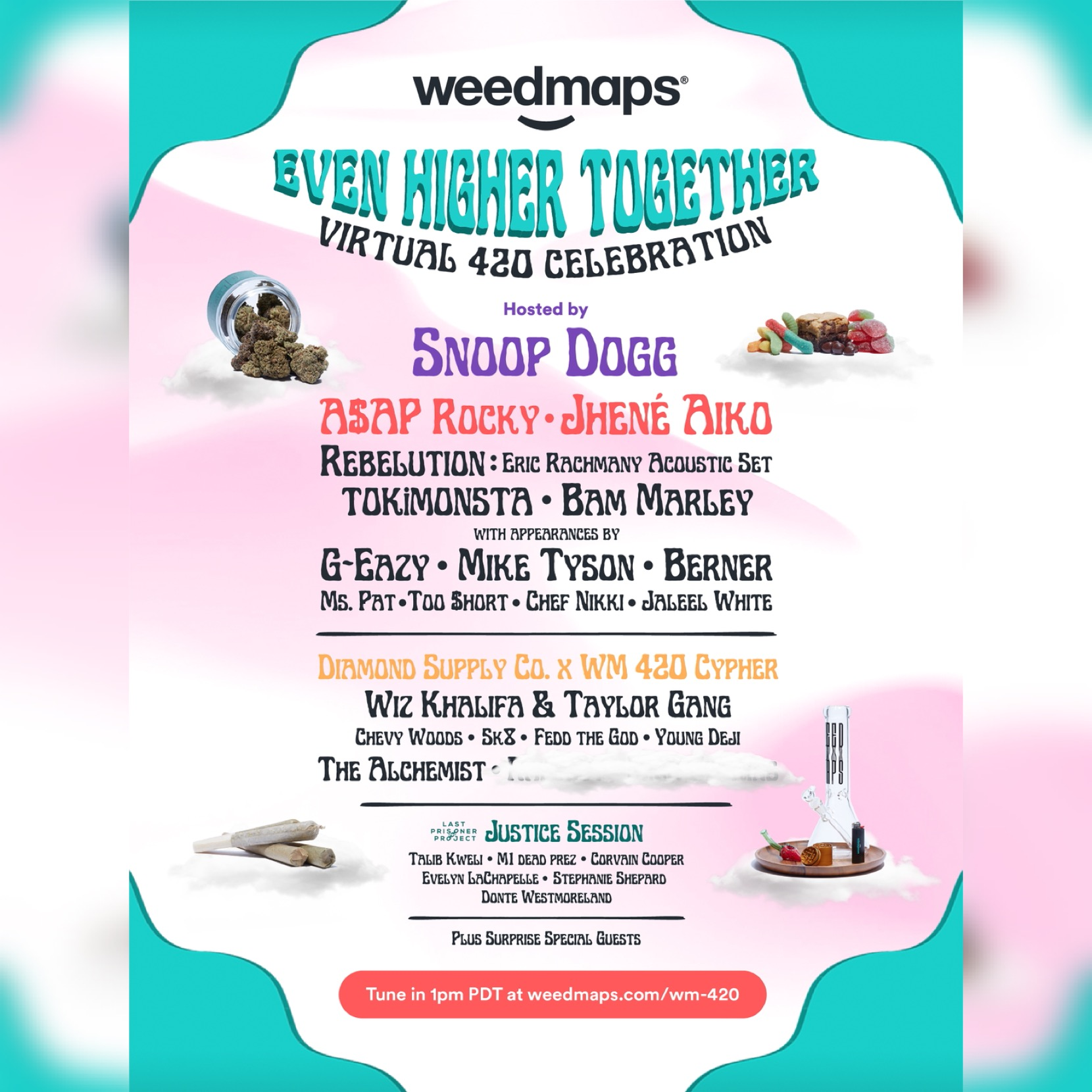 "Weedmaps ""Even Higher Together"" Press Image for use by 360 Magazine"