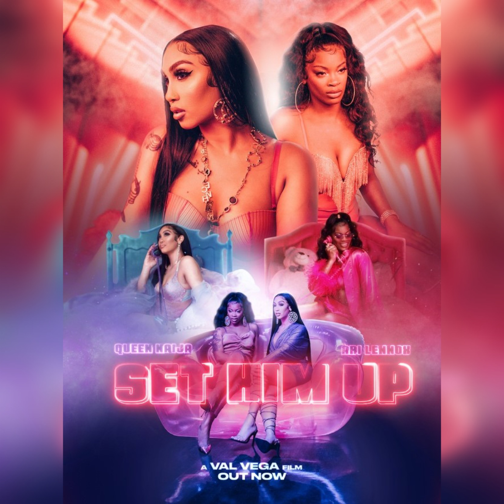 "Queen Naija and Ari Lennox ""Set Him Up"" by Capitol Records for use by 360 Magazine"