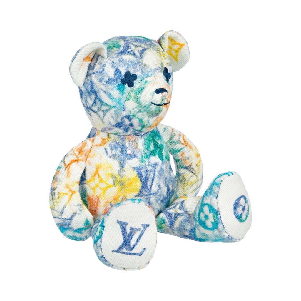 DouDou Teddy Bear by Louis Vuitton for use by 360 Magazine