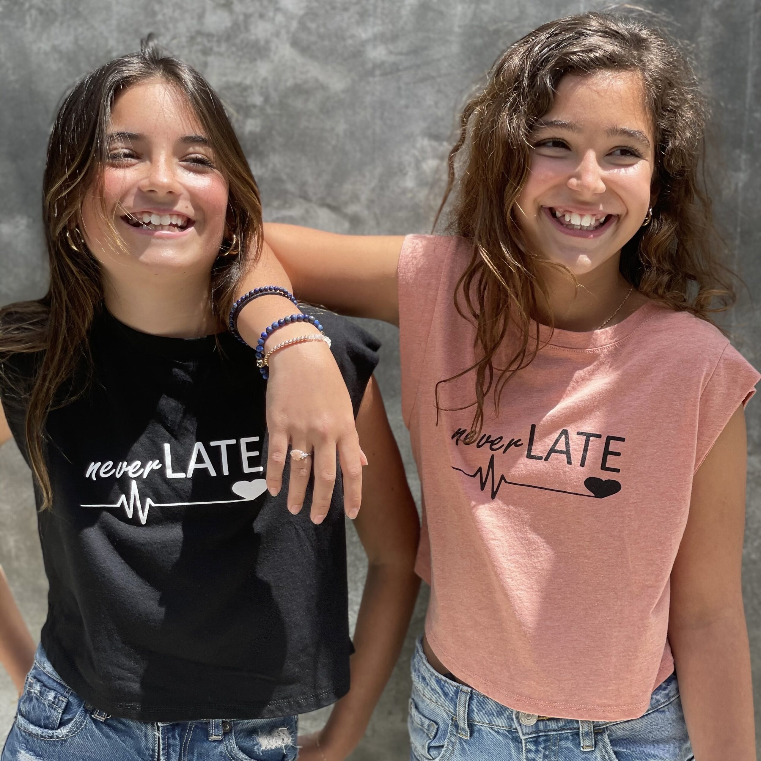 Cate and Laila of LATE Clothing LA for use by 360 Magazine