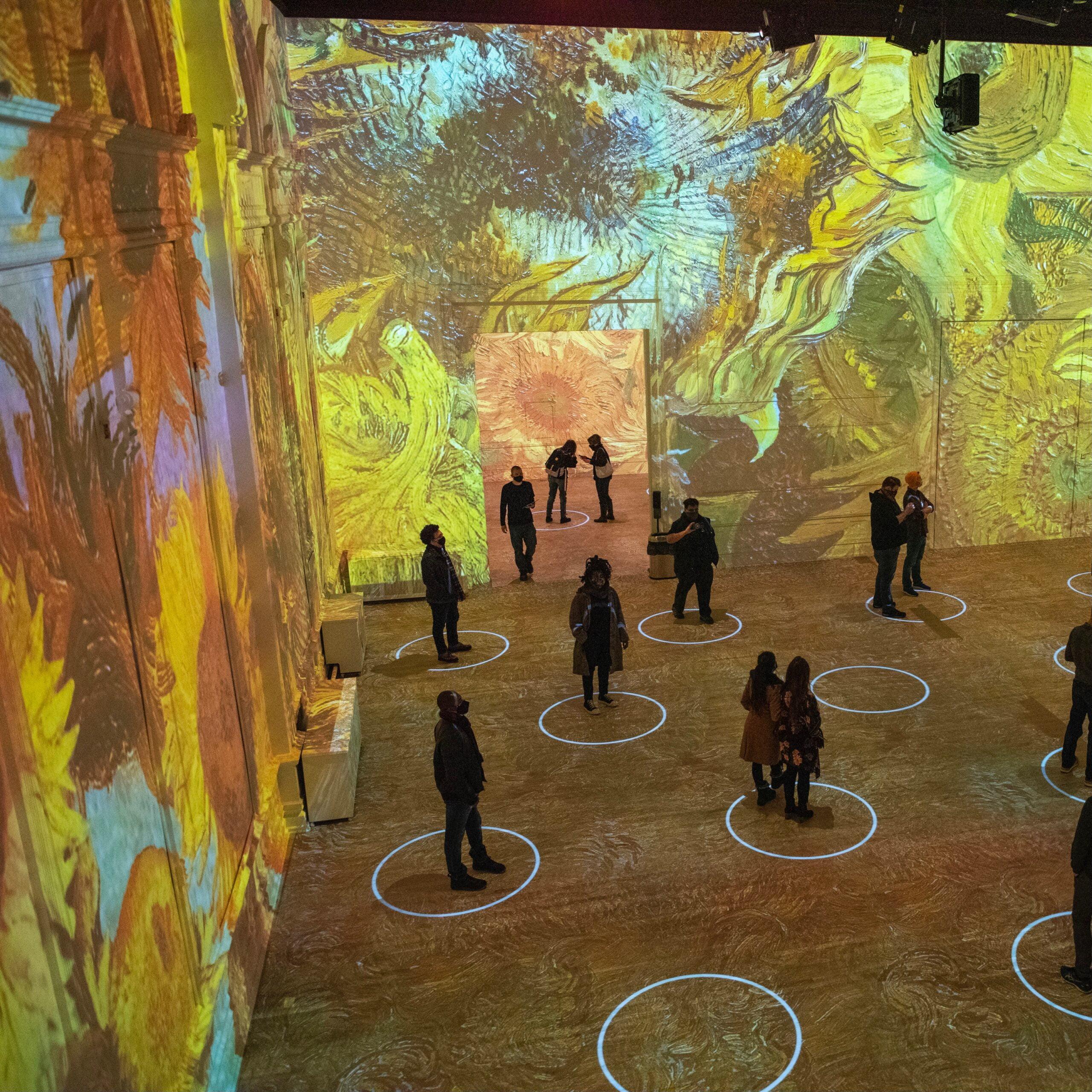 Immersive Van Gogh Chicago 9 - Photo Credit Michael Brosilow.