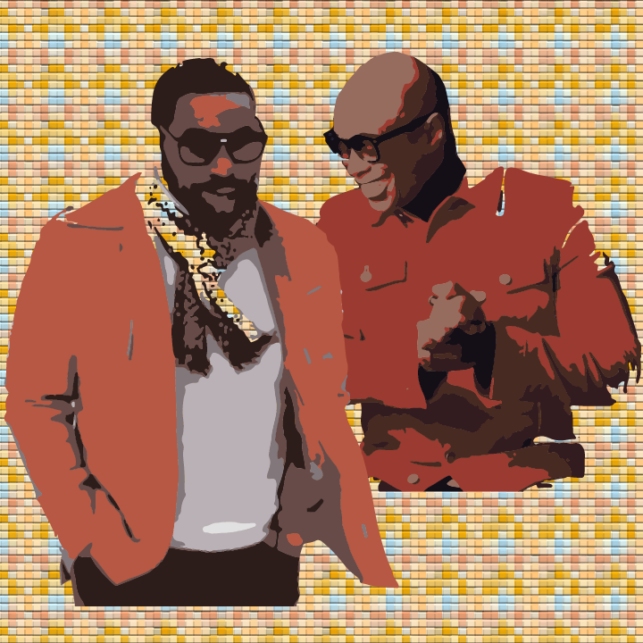 Keith Washing and KEM illustration by Heather Skovlund for 360 Magazine