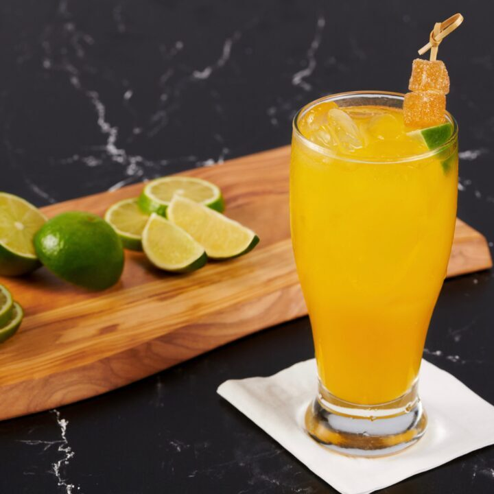 Grand Lux Cafe Mango Mule Recipe image via Brooke Levine at Berk Communications for use by 360 Magazine