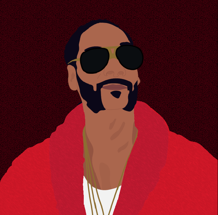 Snoop Dogg illustration by Heather Skovlund for 360 Magazine