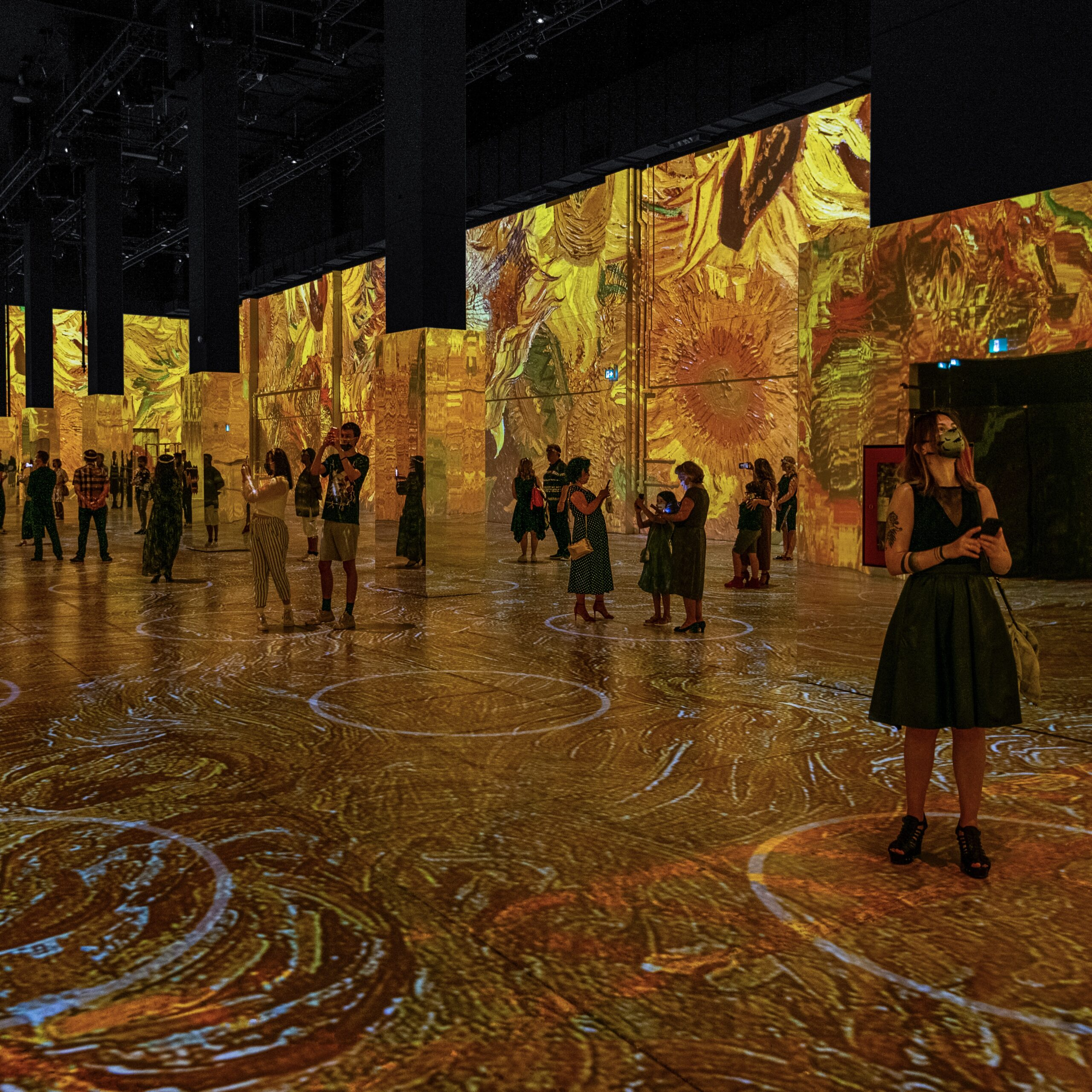 Immersive Van Gogh Exhibit via Carol Fox and Associates Public Relations for use by 360 Magazine