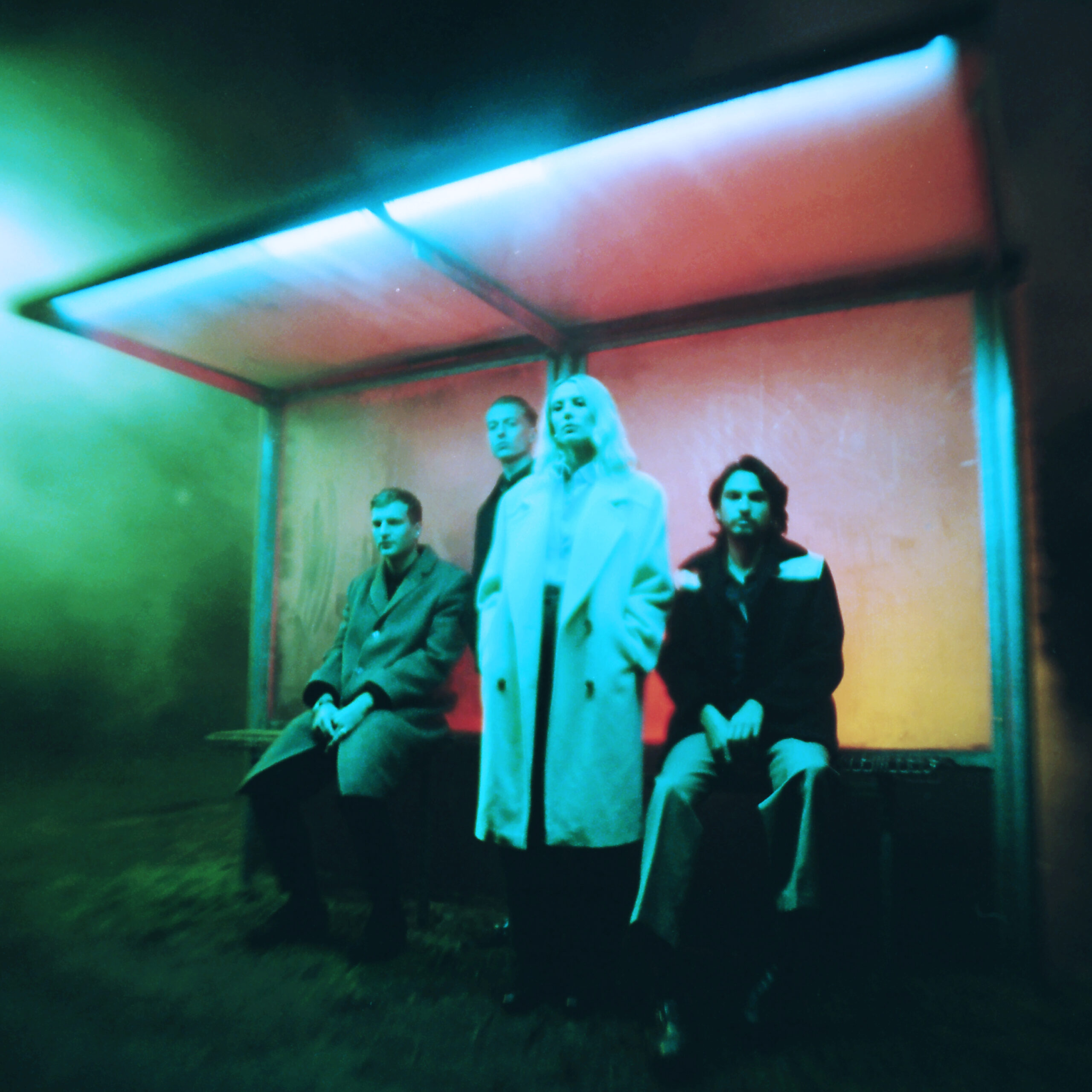 Wolf Alice Blue Weekend press image shot by Jordan Hemingway for use by 360 Magazine