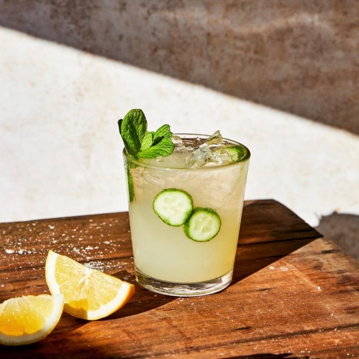 cucumber cooler by Santo Spirits for use by 360 Magazine