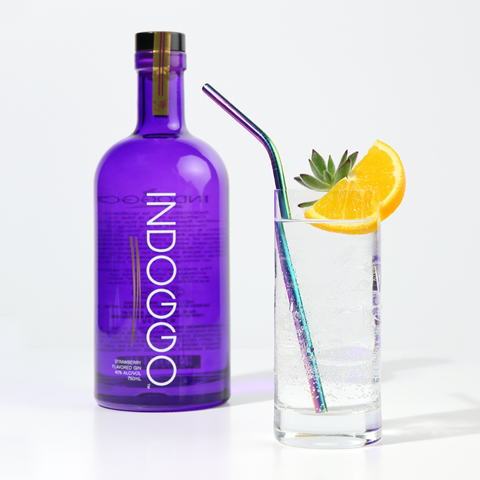 Indoggo Gin PR Image by SnoopDogg for use by 360 Magazine