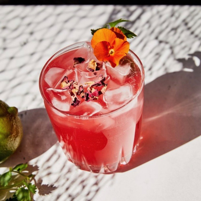 Hibiscus Smash by Santo Spirits for use by 360 Magazine