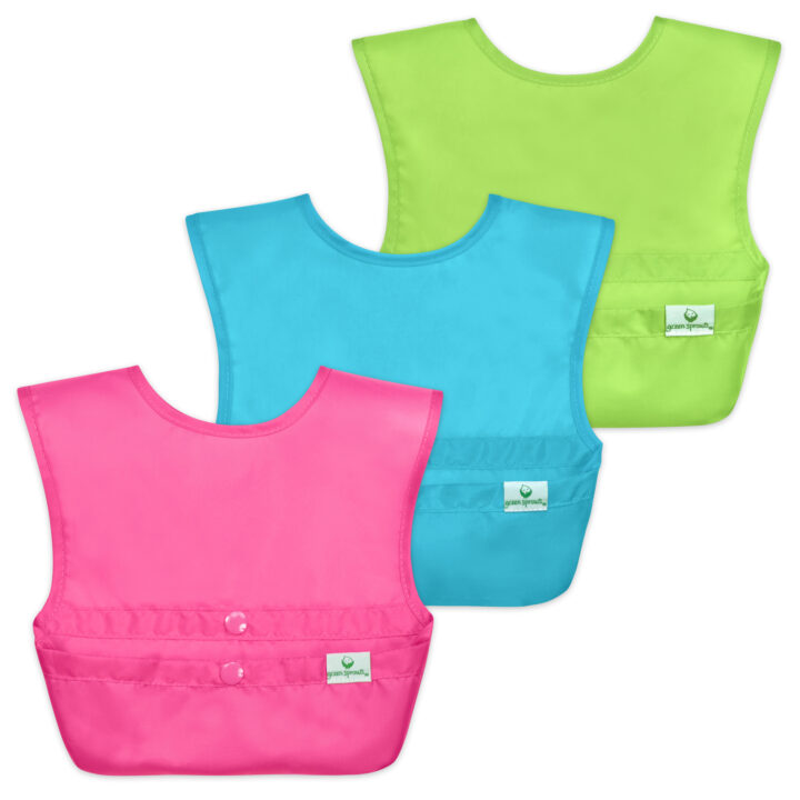 Green Sprouts' Snap-and-Go Easy-Wear Bib image via Kristen Ray at 5WPR for use by 360 Magazine