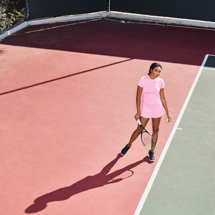 EleVen by Venus and K-Swiss Glow-Up Collection image shot by Kim Gallo (Lede Company Team) for use by 360 Magazine