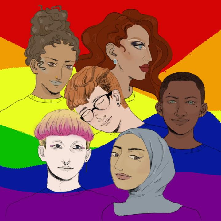 LGBTQIA via Gabreille Archuletta for use by 360 Magazine
