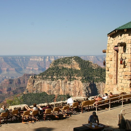 Grand Canyon Lodge North Rim via Forever Resorts for use by 360 Magazine