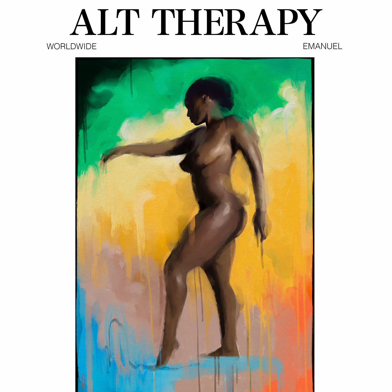 Alt Therapy by Emanuel artwork courtesy of Motown Records and Capitol Music Group for use by 360 Magazine