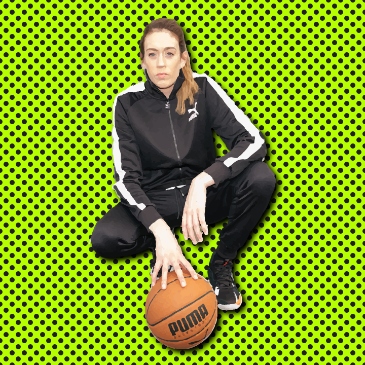 Breanna Stewart illustration by Heather Skovlund for 360 Magazine