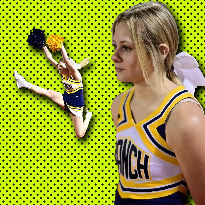 Cheerleading illustration by Heather Skovlund for 360 Magazine