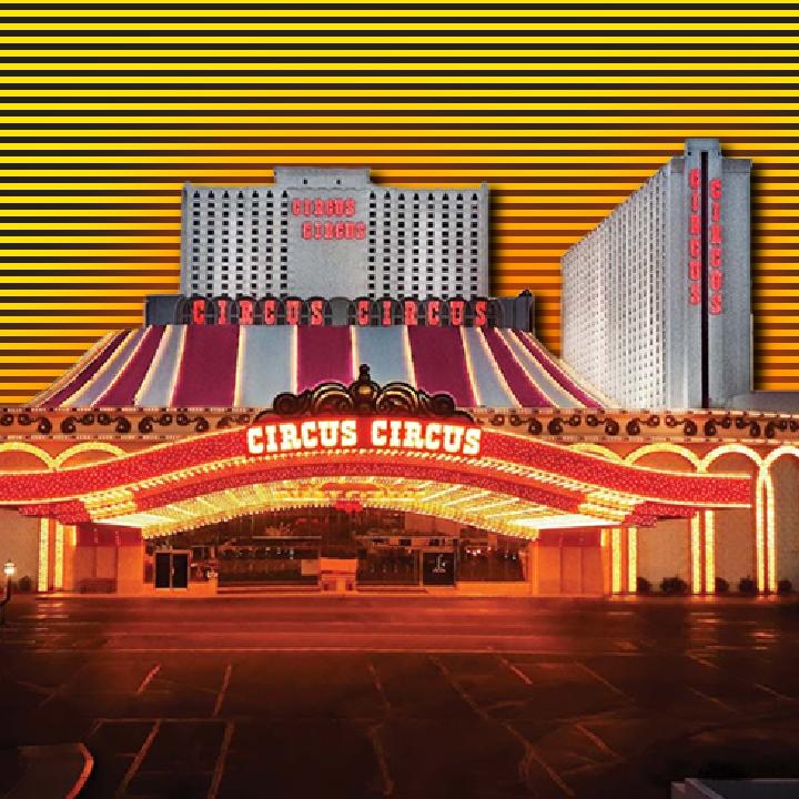 Circus Circus Las Vegas illustration by Heather Skovlund for 360 Magazine
