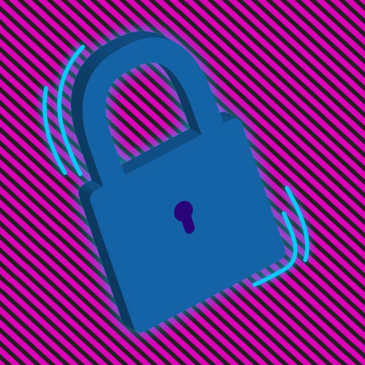 Cybersecurity illustration by Heather Skovlund for 360 Magazine