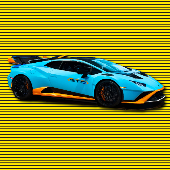 Lamborghini illustration by Heather Skovlund for 360 Magazine