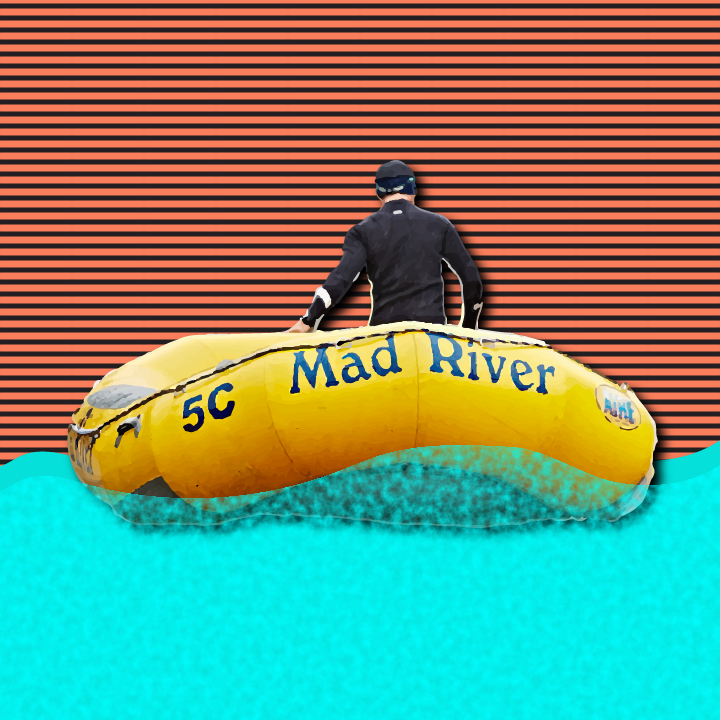 Mad River illustration by Heather Skovlund for 360 Magazine