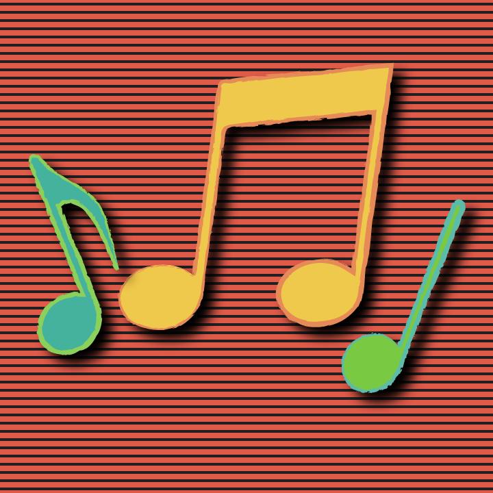Music note illustration by Heather Skovlund for 360 Magazine