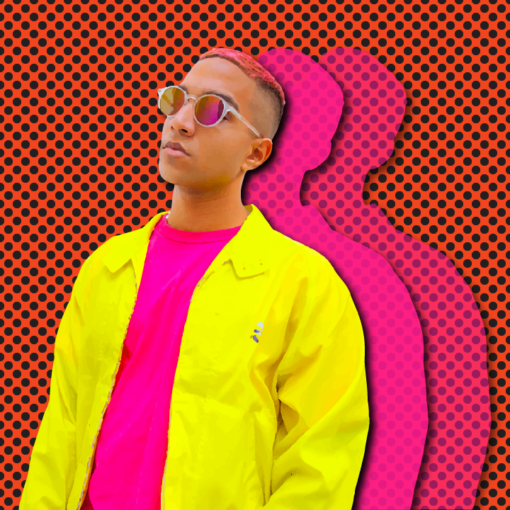 Yung Raja illustration by Heather Skovlund for 360 Magazine