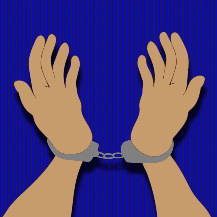 Handcuff illustration by Heather Skovlund for 360 Magazine
