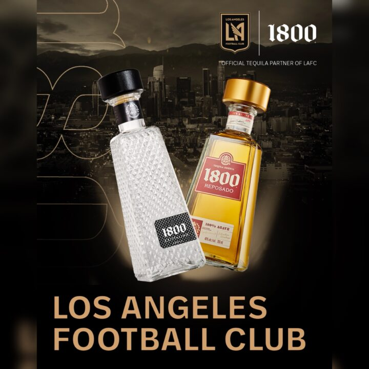 1800 Tequila and Los Angeles Football Club image via Edmund Billings at Exposure America for use by 360 Magazine