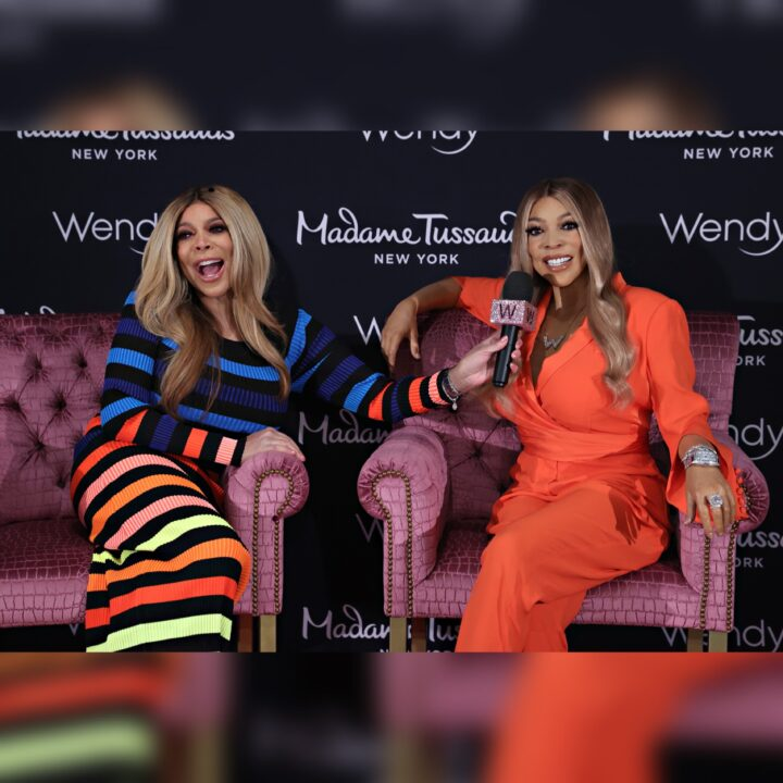 Wendy Williams at Madame Tussaud's Wax Museum NYC via Eliza Rose for use by 360 Magazine