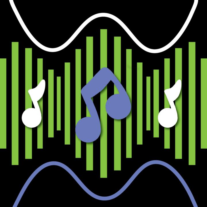 Music Note Illustration x Mina Tocalini for use by 360 Magazine