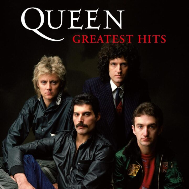 Queen's Greatest Hits Album cover provided by Sharrin Summers and Hollywood Records for use by 360 MAGAZINE.