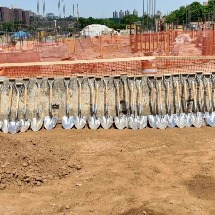 shovel image shot by Vaughn Lowery at Bronx Point and the Universal Hip Hop Museum South Bronx Development Project celebration