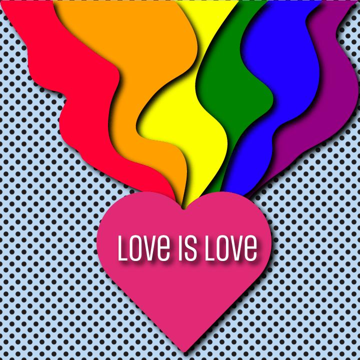 LGBTQ illustration by Heather Skovlund for 360 Magazine