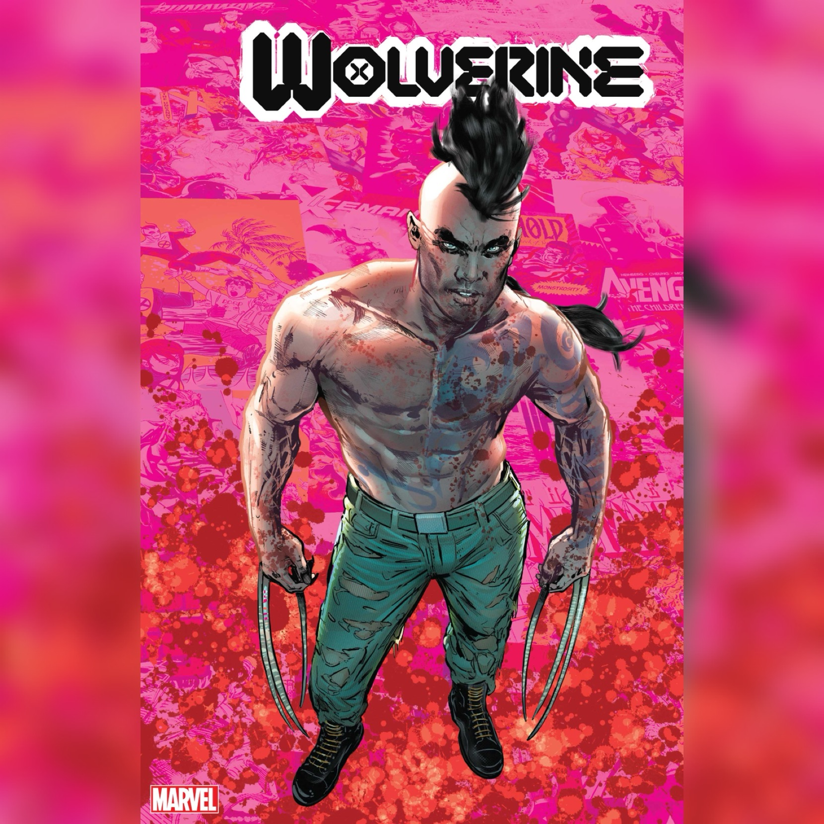 Wolverine Variant Cover provided by Marvel for use by 360 Magazine