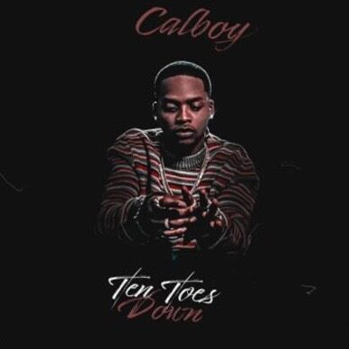 "Calboy ""TEN TOES DOWN"" son release image via Amanda Zimmerman at RCA Records for use by 360 Magazine"