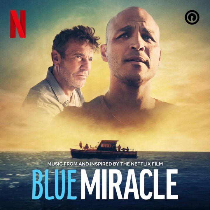 Blue Miracle movie poster by Netflix and Reach Records via Jackie O. Asare at Schure Media Group for use by 360 Magazine