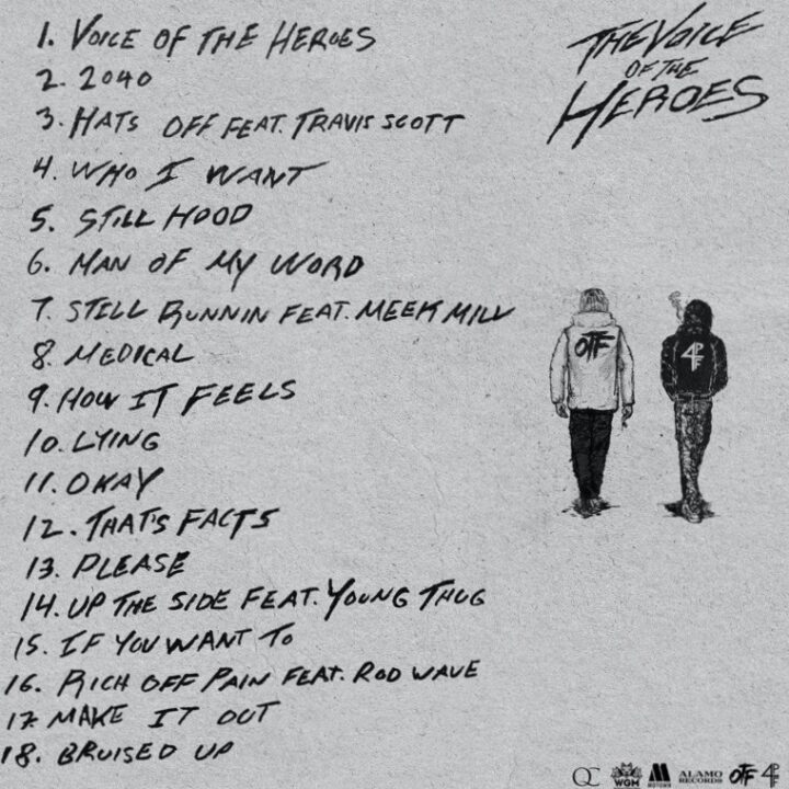 LIL BABY & LIL DURK REVEAL THE VOICE OF THE HEROES TRACKLIST image via Jennie Boddy for use by 360 Magazine