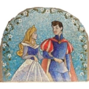 Image of Sleeping Beauty Mosaic given by Caroline Galloway of Mouth to Mouth PR for use by 360 MAGAZINE