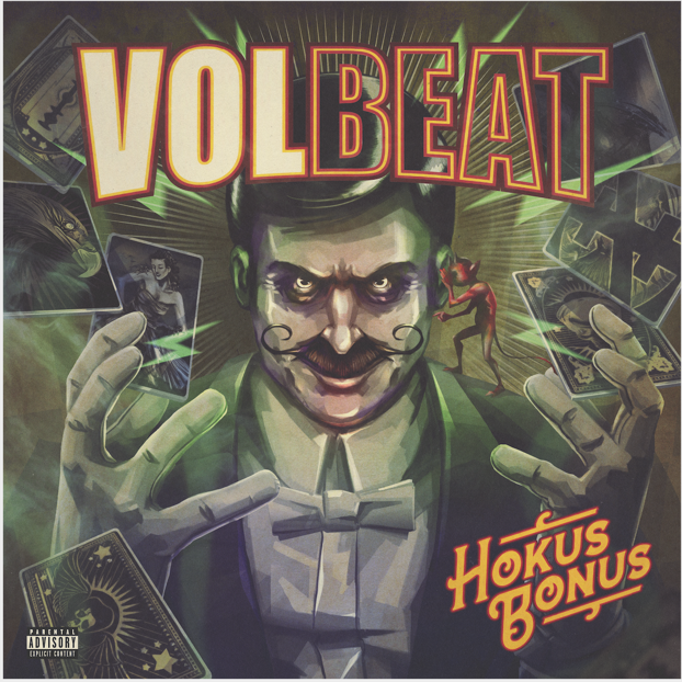 Volbeat artwork courtesy of Republic Records for use by 360 Magazine