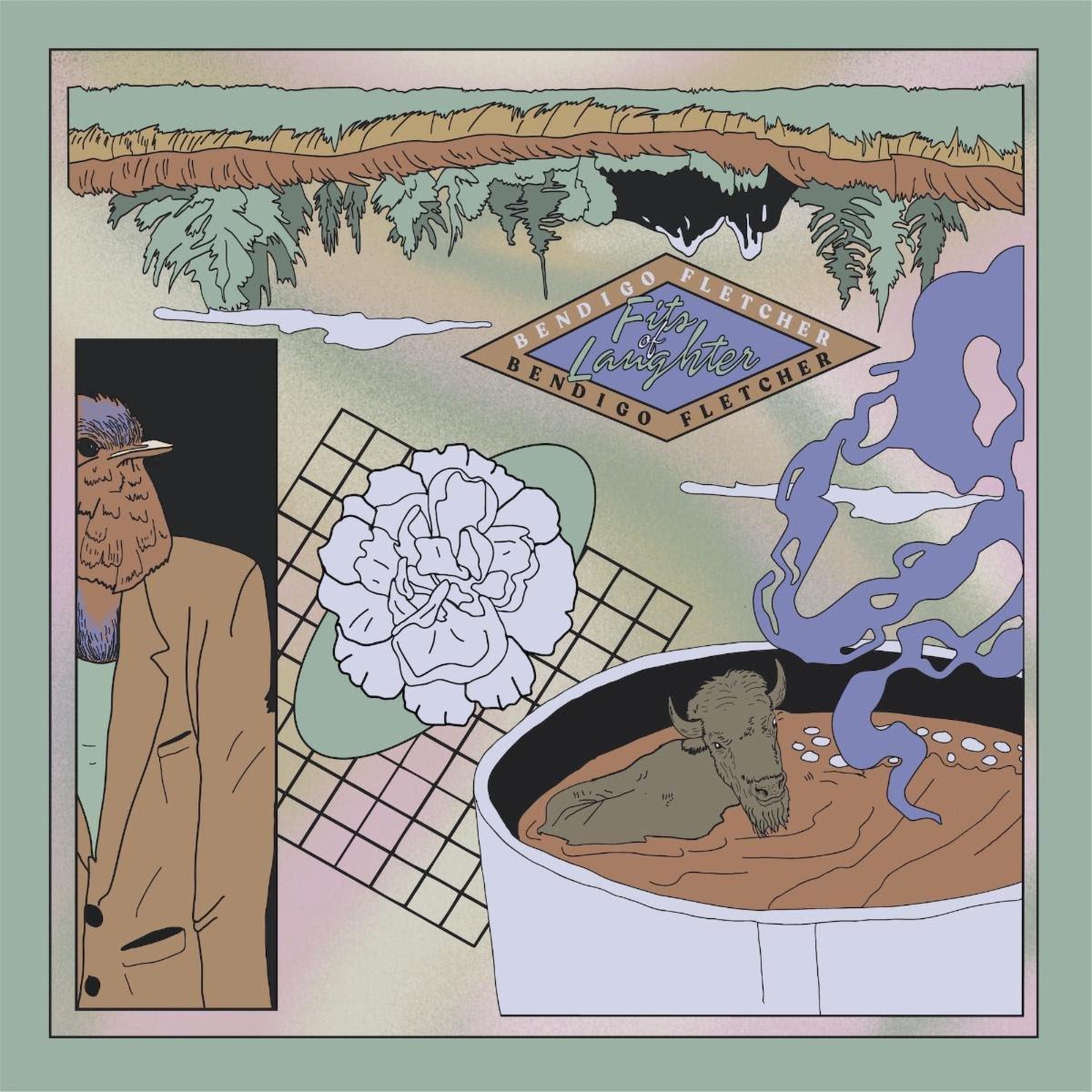 Bendigo Fletcher album artwork courtesy of Elektra Records for use by 360 MAGAZINE
