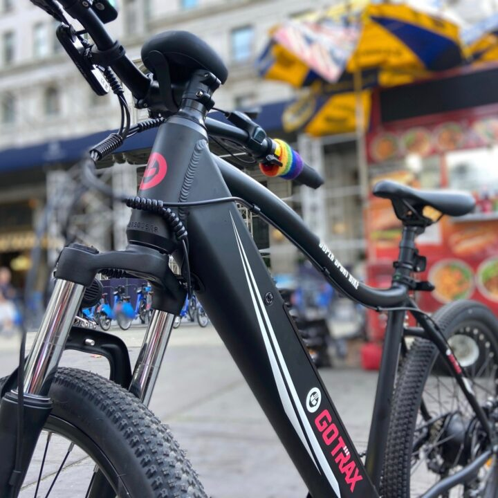 GoTrax Emerge Electric Bike image via Vaughn Lowery and Armon Hayes for use by 360 Magazine