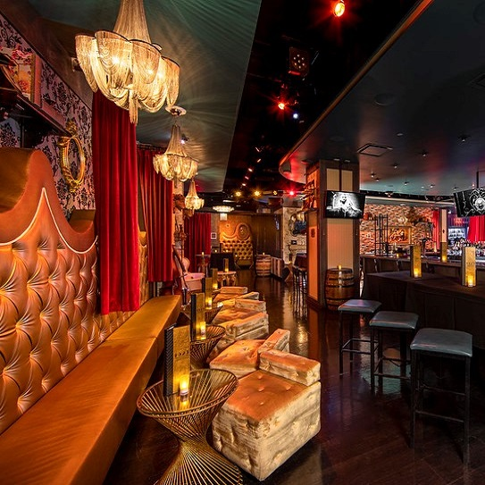 1923 Prohibiton Bar via The Vox Agency for use by 360 Magazine