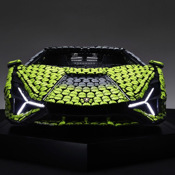 LEGO Lamborghini Image provided by Morgan Theys and Extension PR for use by 360 MAGAZINE.