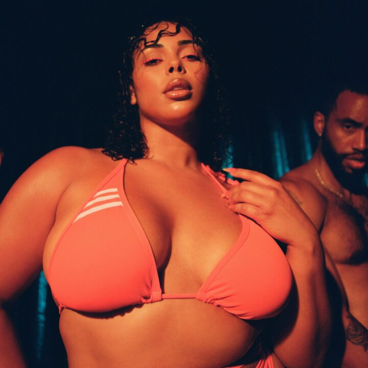 """adidas x IVY PARK """"FLEX PARK"""" Swimwear Capsule image via Kathryn Stelmack at PaulWilmotCommunications from Byl Thompson at Park Wood Entertainment for use by 360 Magazine"""